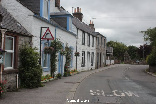 Newabbey main street