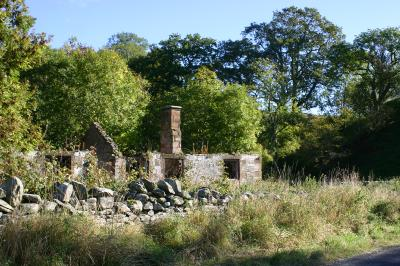 Old croft near Forest of Ae