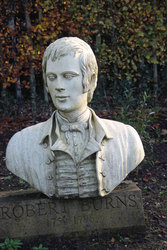 Sculpture of Burns