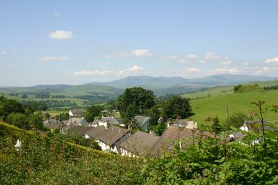 View over Balmaclellan