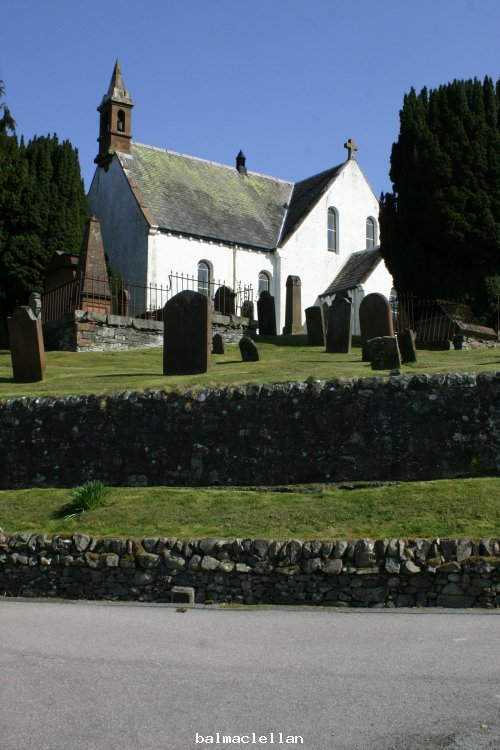 balmaclellan church