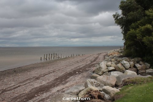 The Solway shore at Carsethorne