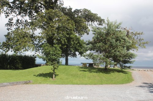 Parking and picnic area at drumburn