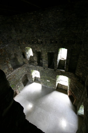 Drumcoltran tower interior