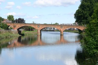 The River Nith at Dumfries