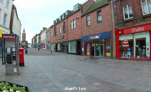 Dumfries Main Street