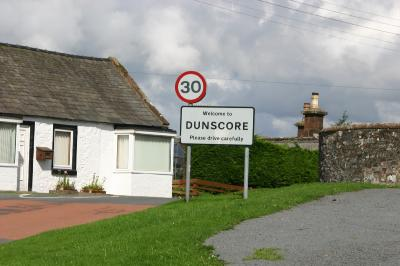 Dunscore sign