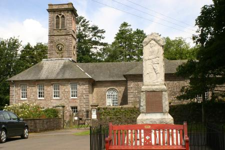 Durisdeer church and memorial