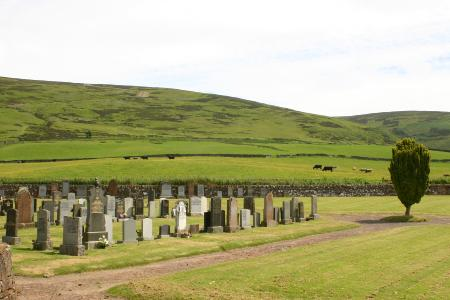 Durisdeer grave yard