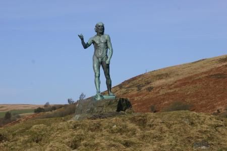 Sculptures at Glenkiln