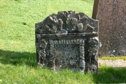Gravestone at Balmaclellan & kells New Galloway