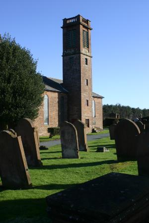 Holywood Church, Nr Dumfries. <br> taken March 2008