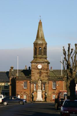 The Town hall Lochmaben