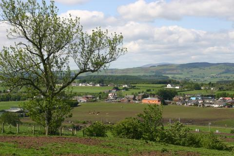 View over Lockerbie