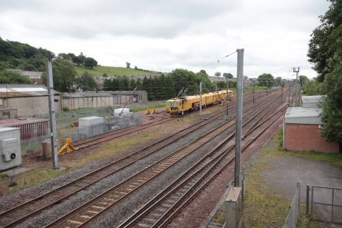 Railway lines Lockerbie
