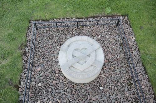site of the burial of the heart of Robert the Bruce