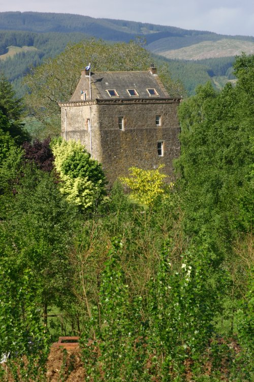 Lochhouse Tower house, Moffat