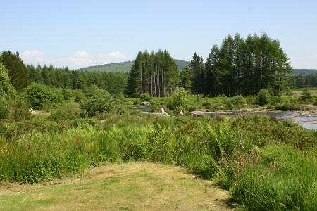 The River Dee along the Raiders Trail