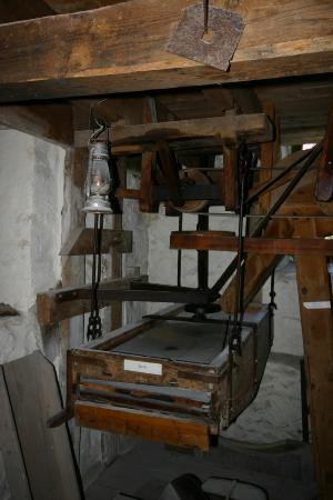 A sieve at New Abbey Cornmill