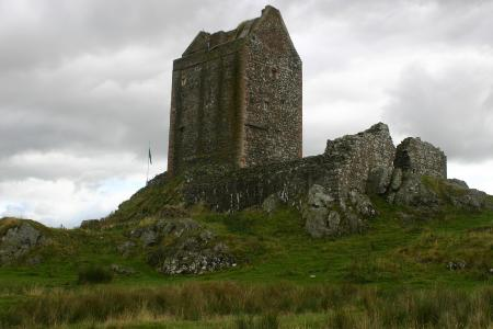 Smailholm tower house