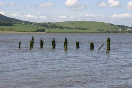 remains of Old pier