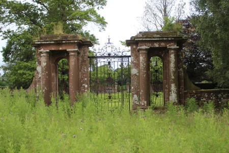 Gateway to demolished mansion