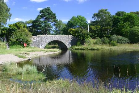 The bridge Tibbie Shiels Inn St Marys Lo