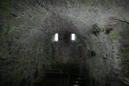 Interior at Threave Castle