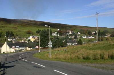 The village Wanlockhead